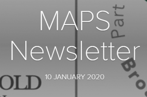 MAPS Newsletter - 10th January 2020