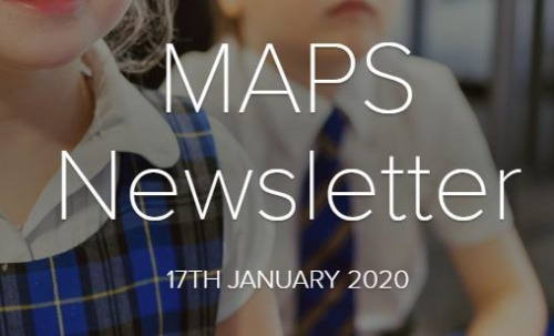 MAPS Newsletter - 17th January 2020