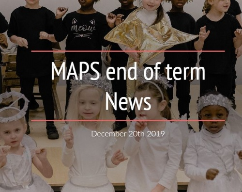 MAPS Newsletter - 20th December 2019