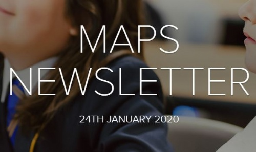 MAPS Newsletter - 24th January 2020