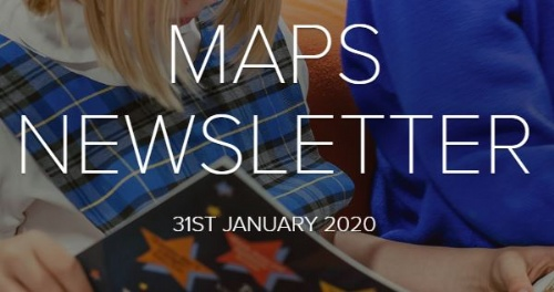 MAPS Newsletter - 31st January 2020