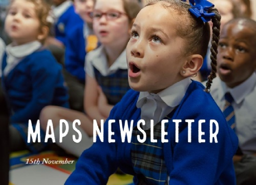 MAPS Newsletter - 15th November 2019