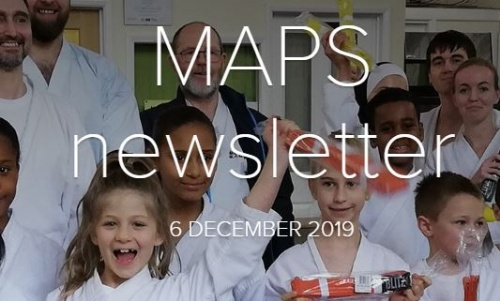 MAPS Newsletter - 6th December 2019