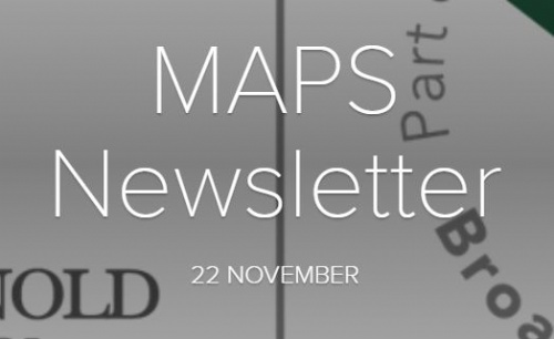 MAPS Newsletter - 22nd November 2019