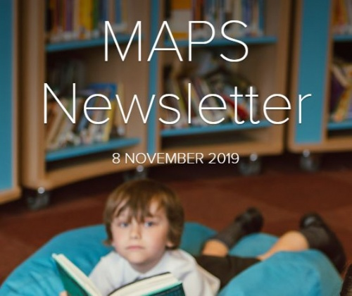 MAPS Newsletter - 8 November 2019